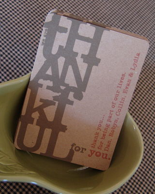 Thankfulcards